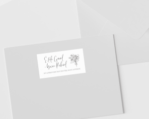 Bloom - Étiquettes d'adresse pour enveloppes