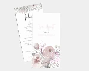 Bloom - Carte de Menu (langue)