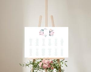 Blumengold - Plan de Table 70x50 cm (horizontal)