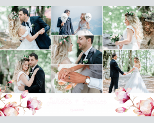 Cataleya - Affiche de mariage