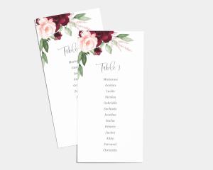 Beloved Floral - Plan de Table 1 - 10