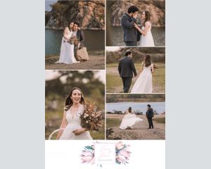 Blumengold - Affiche de mariage (verticale)
