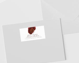 Flower of Life - Étiquettes d'adresse pour enveloppes