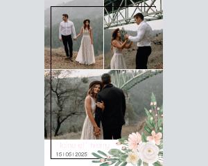Ancona - Affiche de mariage (verticale)