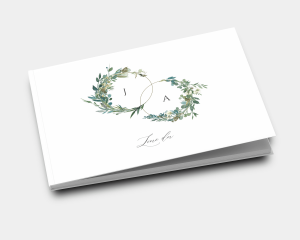 Leafy Hoops - Livre d´or mariage