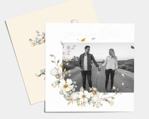 Fairytale - Save the Date carte mariage