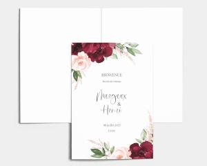 Beloved Floral - Livrets de Messe Mariage