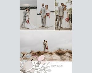 Bloom - Affiche de mariage (verticale)