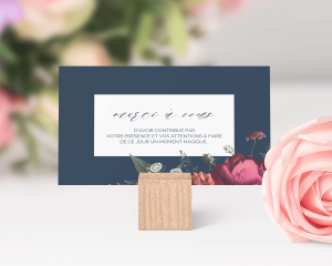 Blooming Botanical - Carte de remerciements mariage petit format