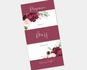 Beloved Floral - Faire-Part mariage 3 ensemble
