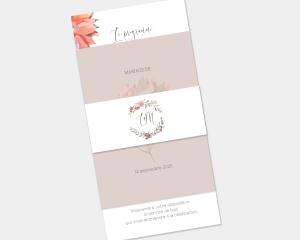 Estiva - Faire-Part mariage 3 ensemble