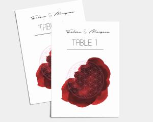 Flower of Life - Numéros de Table 1 - 10