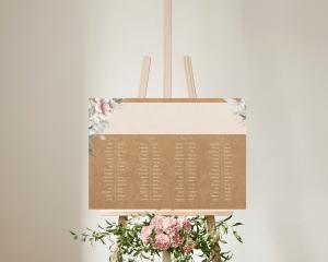 Claire - Plan de Table 70x50 cm (horizontal)