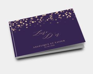 Elegant Glow - Livre d´or mariage