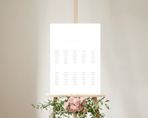 Bel Air - Plan de Table 50x70 cm (vertical)