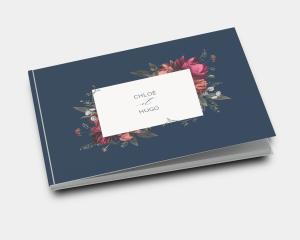 Blooming Botanical - Livre d´or mariage