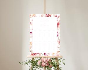 Cataleya - Plan de Table 50x70 cm (vertical)