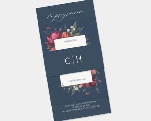 Blooming Botanical - Faire-Part mariage 3 ensemble