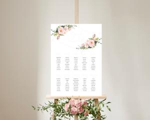 Fiore - Plan de Table 50x70 cm (vertical)