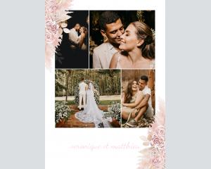 Bohemian - Affiche de mariage (verticale)