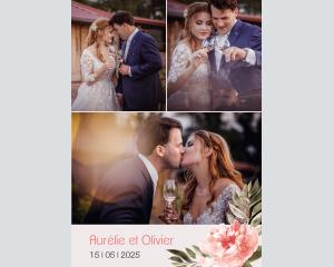Aurora - Affiche de mariage (verticale)