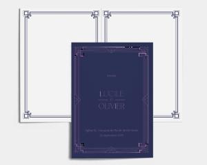 Gatsby - Livrets de Messe Mariage