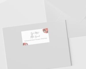 Estiva - Étiquettes d'adresse pour enveloppes