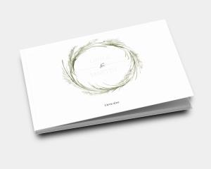 Erba della Pampas - Livre d´or mariage