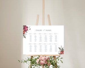 Blooming Botanical - Plan de Table 70x50 cm (horizontal)