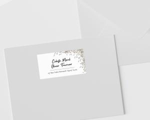 Fairytale - Étiquettes d'adresse pour enveloppes