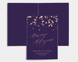 Elegant Glow - Livrets de Messe Mariage