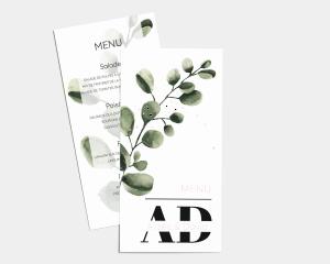 Leafy - Carte de Menu (langue)