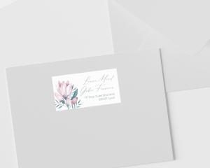Blumengold - Étiquettes d'adresse pour enveloppes
