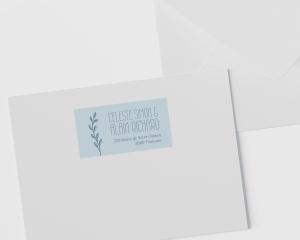 Together - Étiquettes d'adresse pour enveloppes