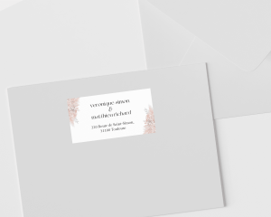 Bohemian - Étiquettes d'adresse pour enveloppes