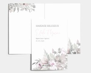 Bloom - Livrets de Messe Mariage
