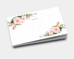 Fiore - Livre d´or mariage