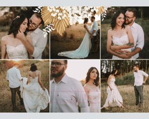 Ivory Luna - Affiche de mariage