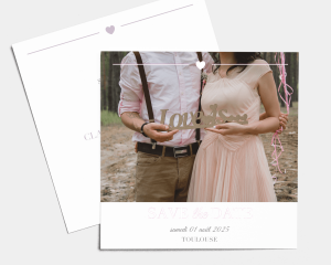 Bel Air - Save the Date carte mariage