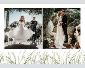Erba della Pampas - Affiche de mariage