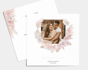 Bohemian - Save the Date carte mariage